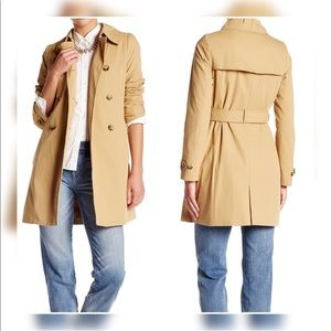 J.crew petite belted trench coat size 10